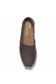 TOMS Grey Canvas Alpergata Shoes - Side cropped