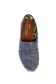 TOMS Classic Chambray Alpergata Shoes - Front full body