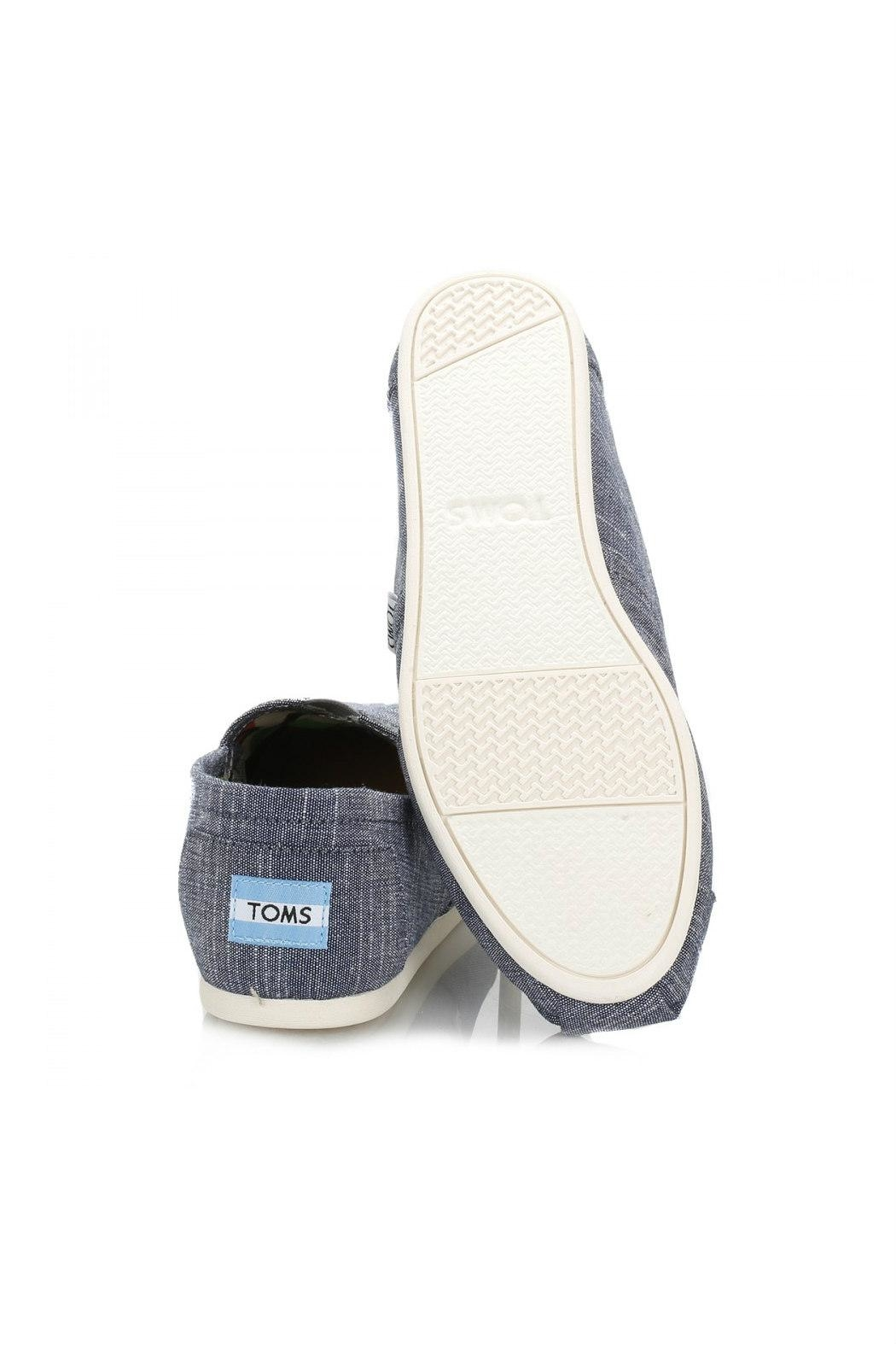TOMS Classic Chambray Alpergata Shoes - Side Cropped Image