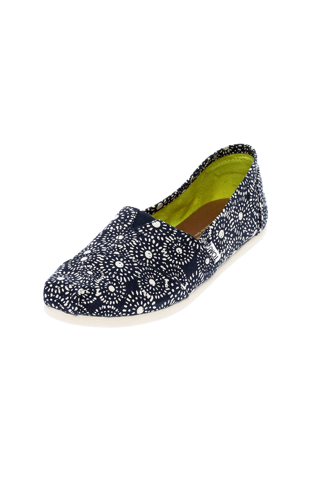 TOMS Classic Slip-On Shoes - Back Cropped Image