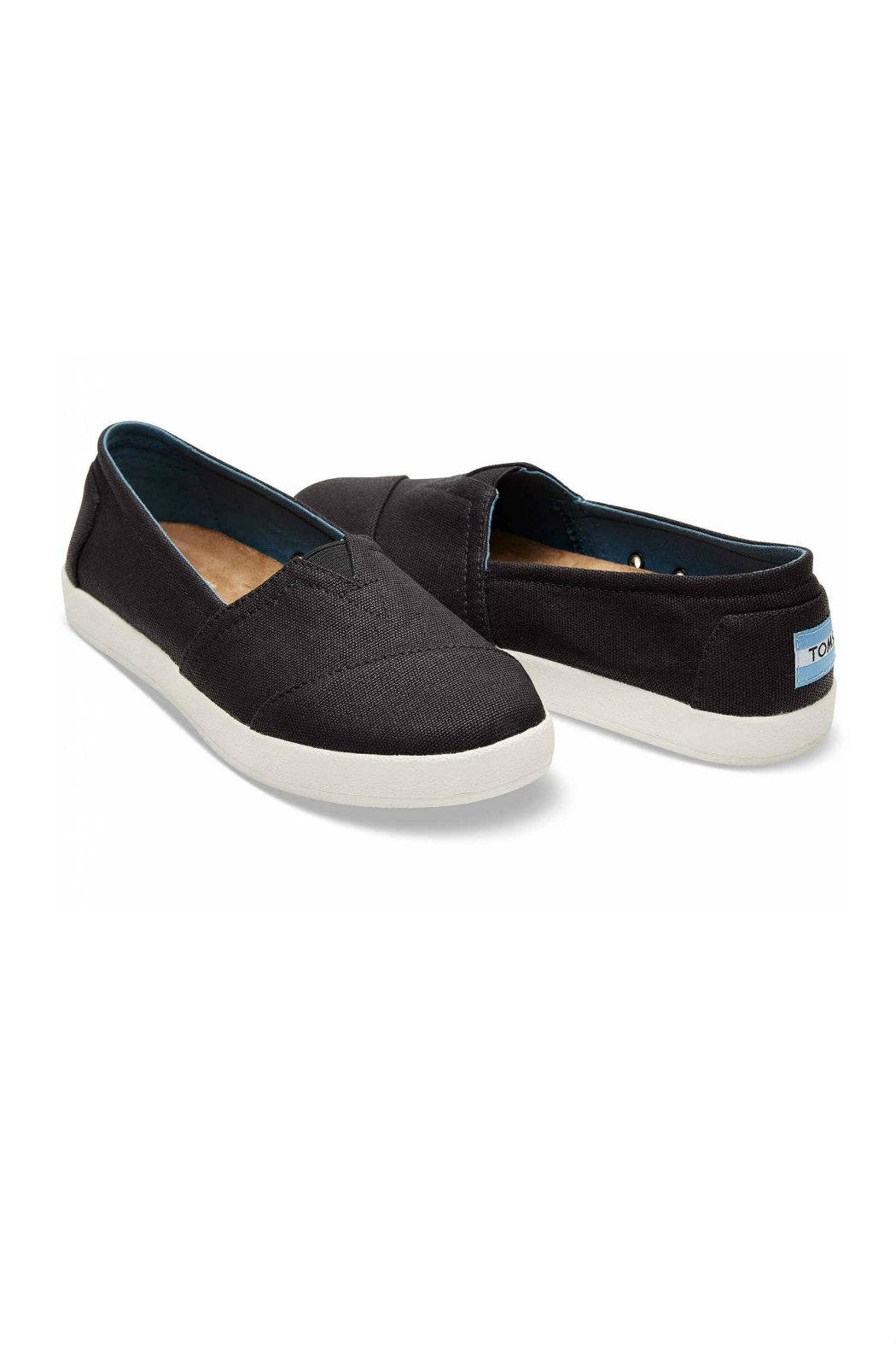 TOMS Coated Canvas Avalon - Front Full Image