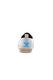 TOMS Deconstructed Espadrilles - Front full body