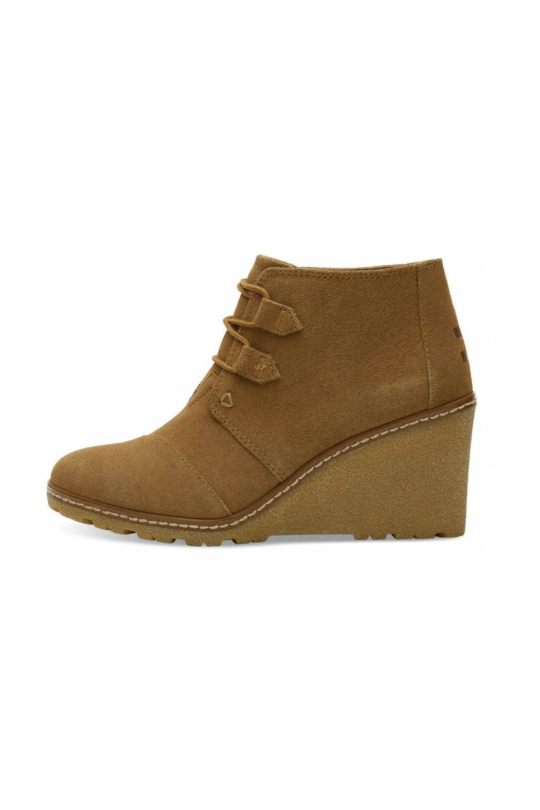 Desert Wedge Booties