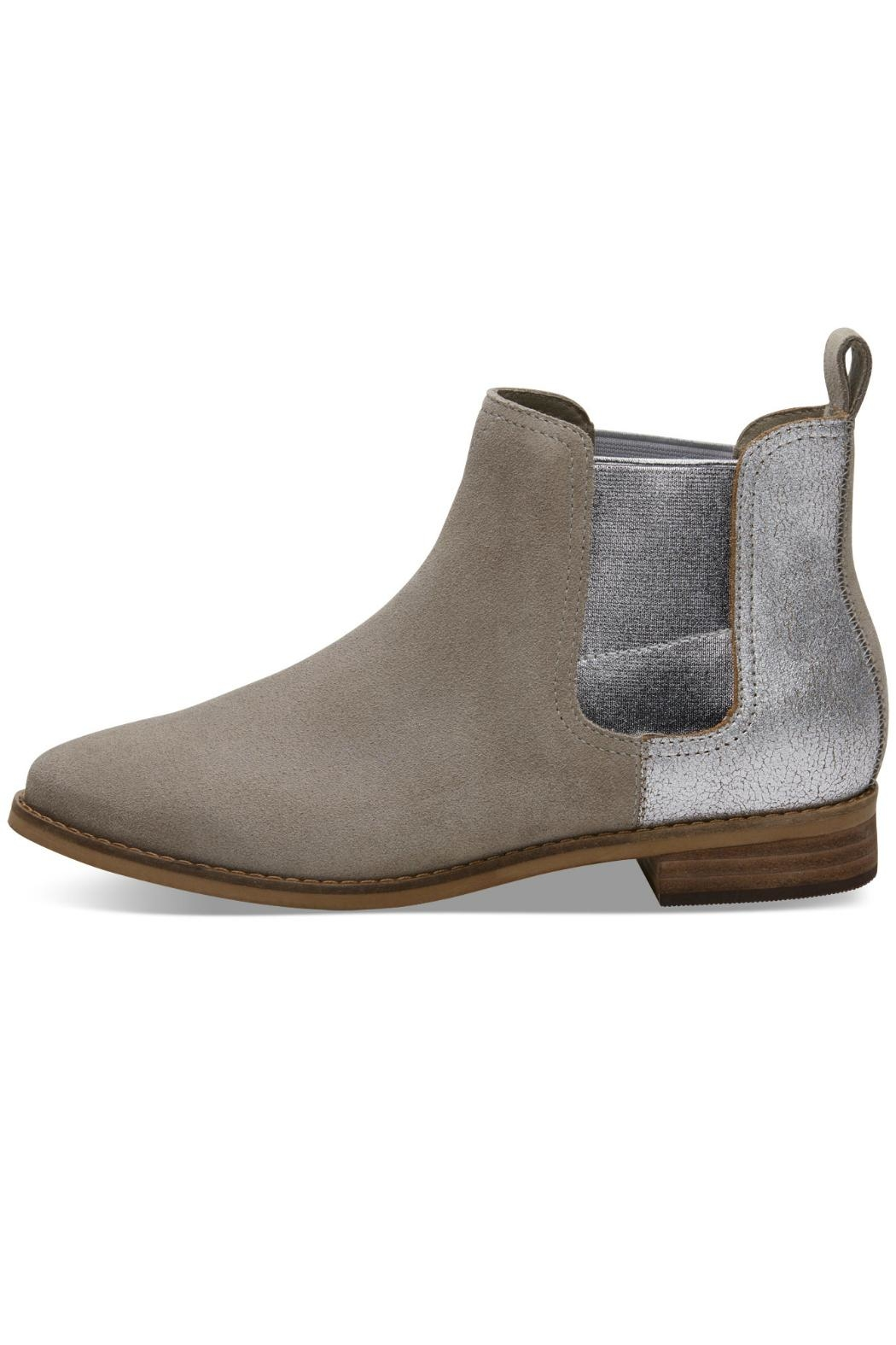 TOMS Ella Suede Bootie - Front Cropped Image