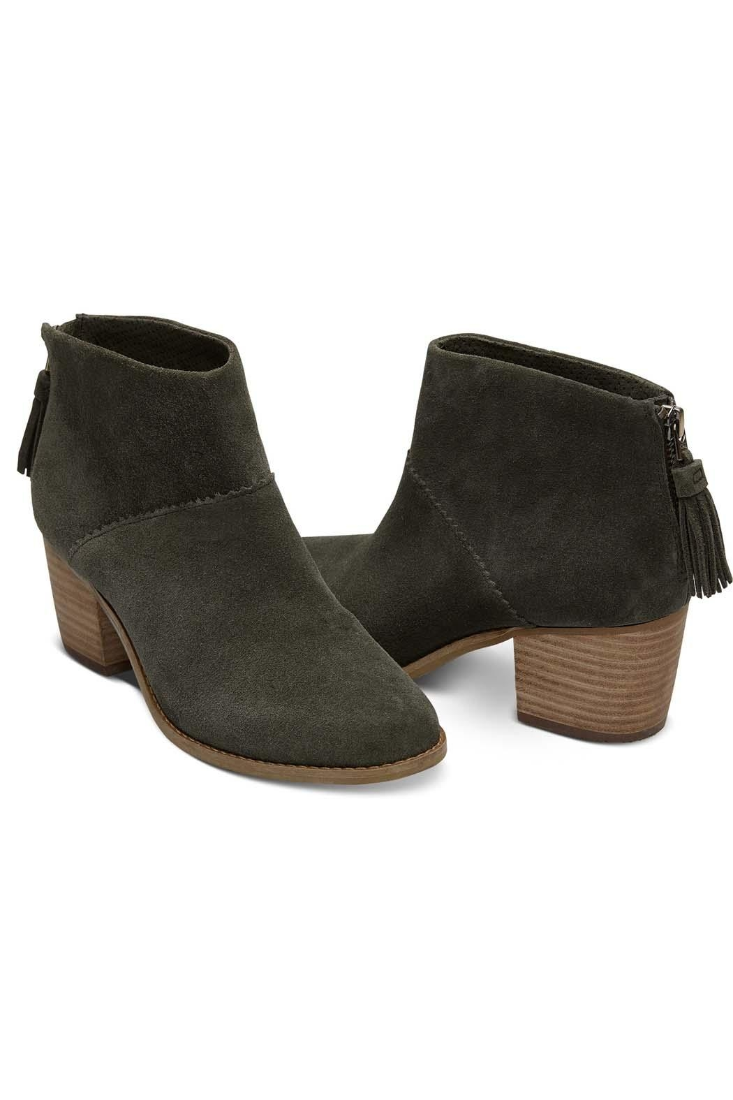 TOMS Forest Suede Bootie - Front Full Image