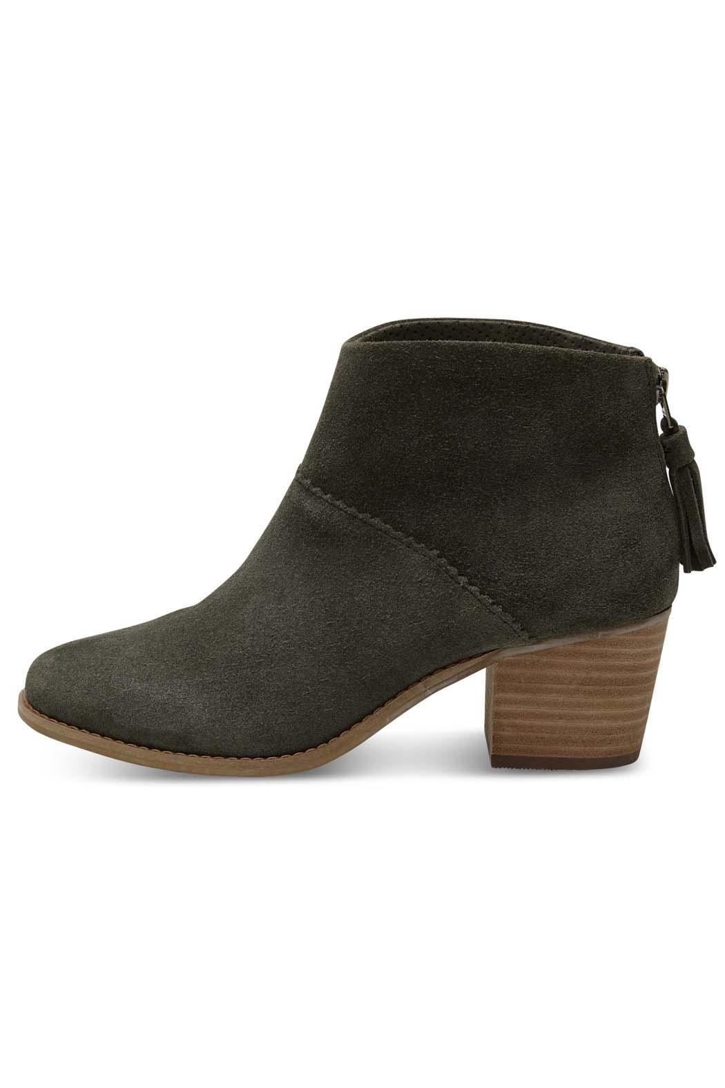 TOMS Forest Suede Bootie - Main Image