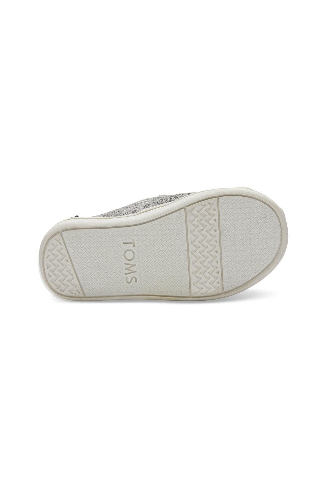 TOMS Glow-In-The-Dark Classic Alpergatas - Side Cropped Image