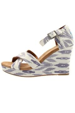 Shoptiques Product: Ikat Strappy Wedge