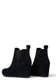 TOMS Kelsey Suede Booties - Back cropped