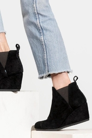 TOMS Kelsey Suede Booties - Front cropped