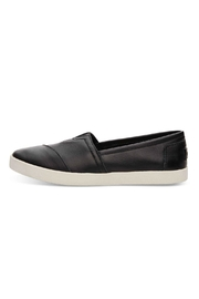 TOMS Leather Avalon Slip Ons - Front cropped
