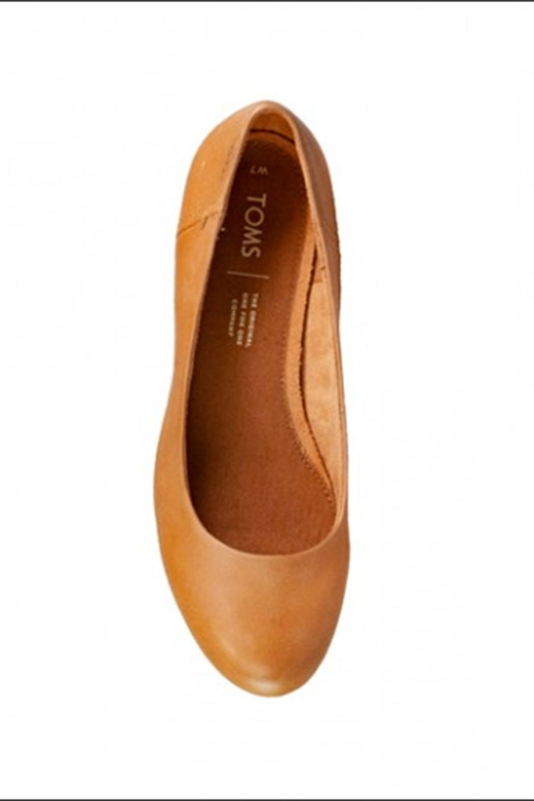 TOMS Toms Leather Heels - Side Cropped Image