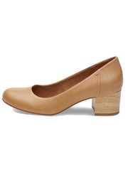 TOMS Toms Leather Heels - Front cropped
