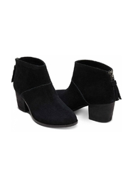 TOMS Leila Suede Bootie - Front full body
