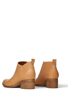 TOMS Leilani Honey-Leather Booties - Alternate List Image