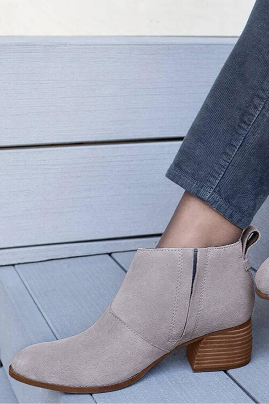 TOMS Leilani Booties - Front Cropped Image