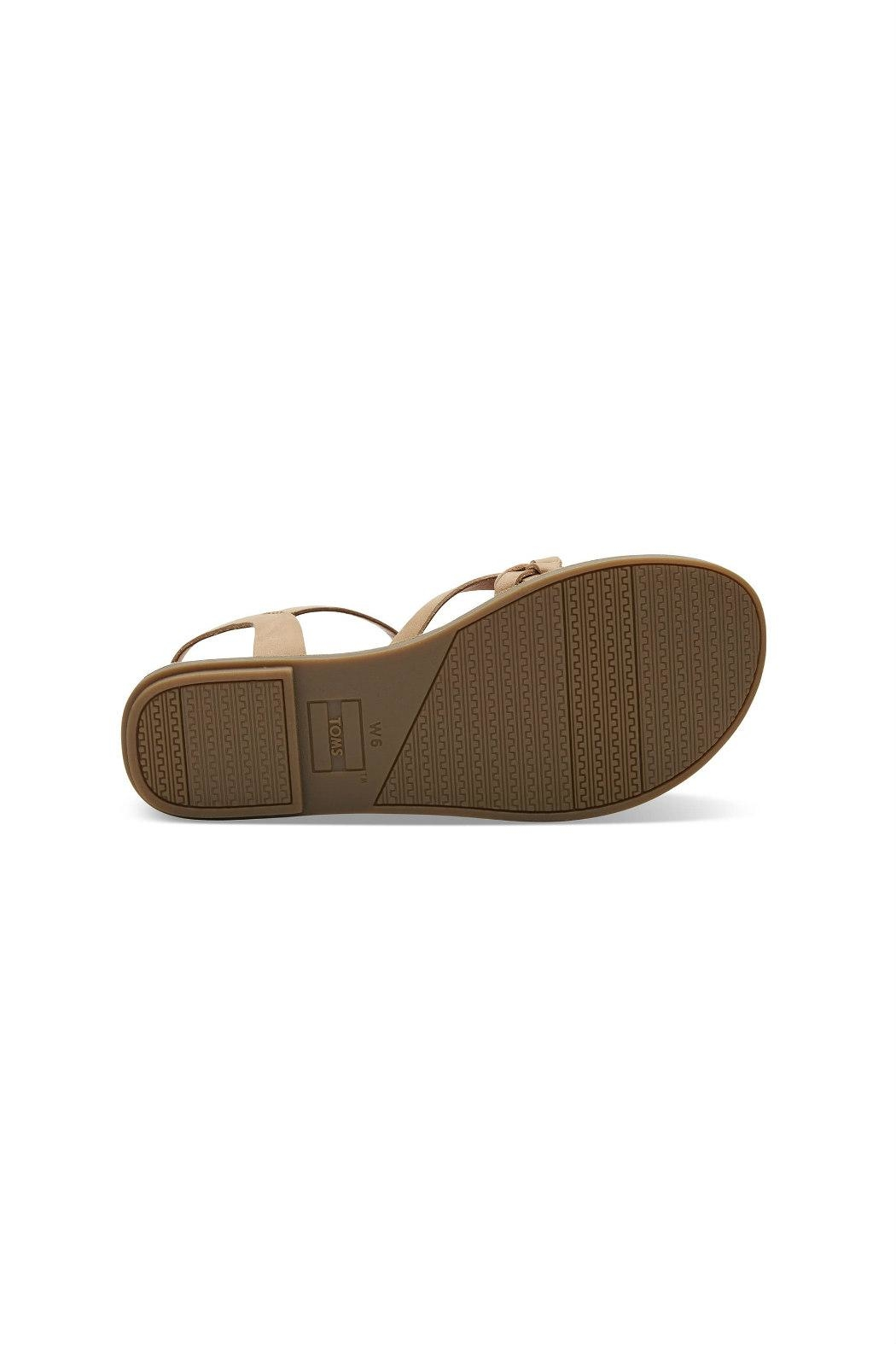 TOMS Lexie Leather Sandal - Side Cropped Image