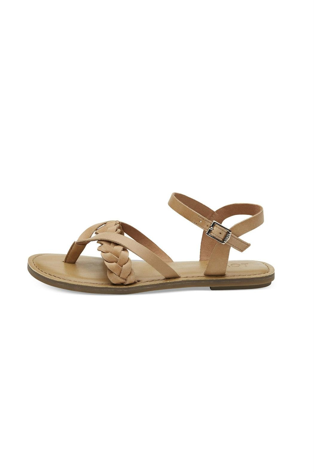 5025d7f84af TOMS Lexie Leather Sandal from Statesboro by Sole — Shoptiques