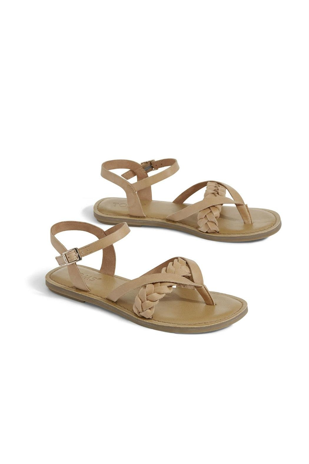 TOMS Lexie Leather Sandal - Front Full Image