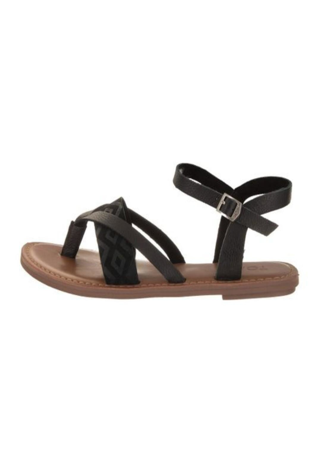 20ed82eec35 TOMS Lexie Sandal Black from Tennessee by Bloem Kind Boutique ...