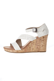 TOMS Clarissa Linen Wedge - Product Mini Image