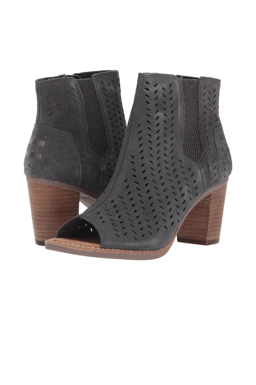TOMS Majorca Peep Toe - Front Cropped Image