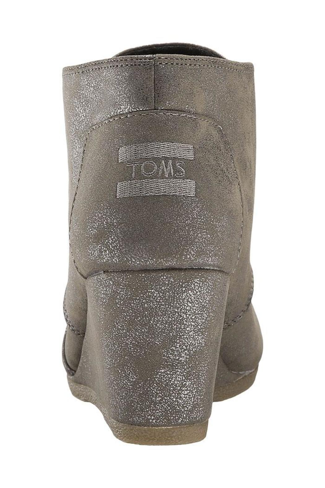 TOMS Metallic Wedges - Side Cropped Image