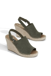 TOMS Monica Suede Wedge - Front full body