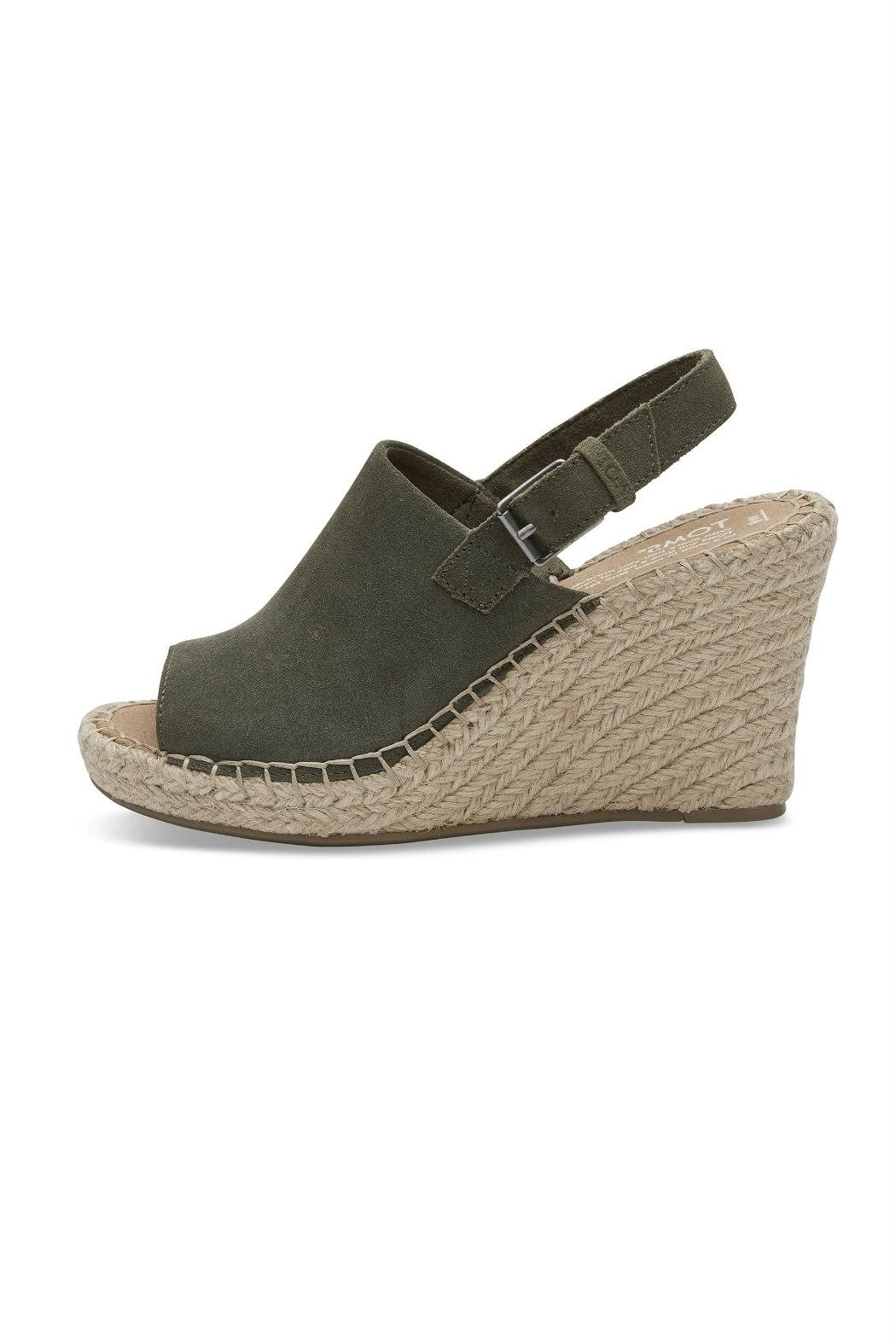 TOMS Monica Suede Wedge - Main Image