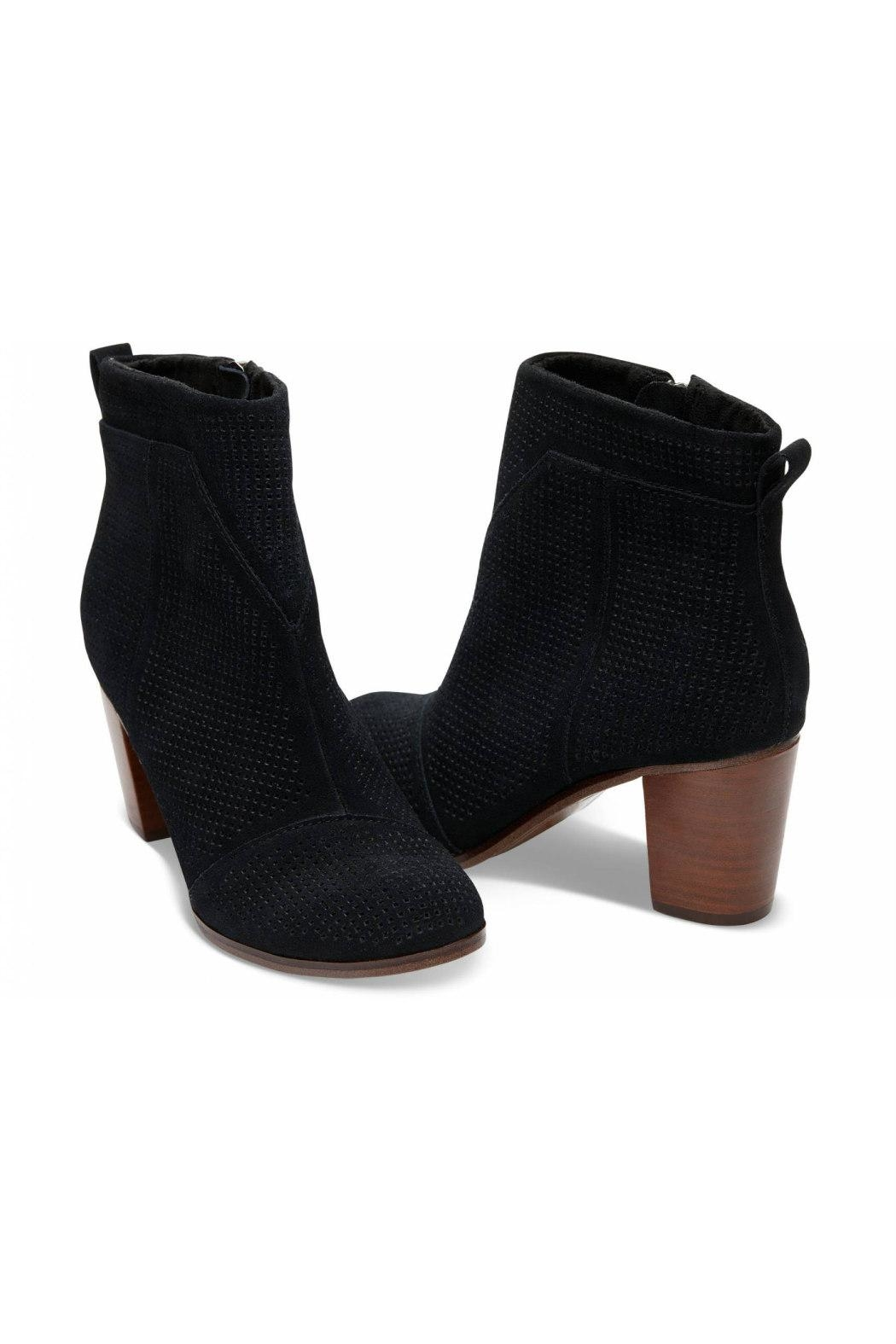 TOMS Perforated Lunata Bootie - Front Full Image