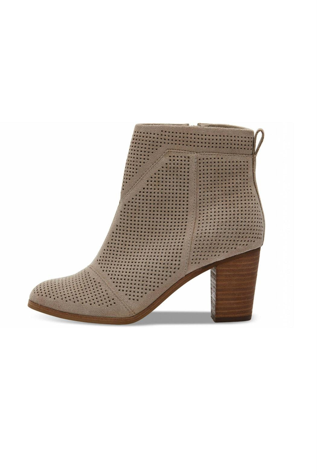 TOMS Perforated Lunata Bootie - Main Image