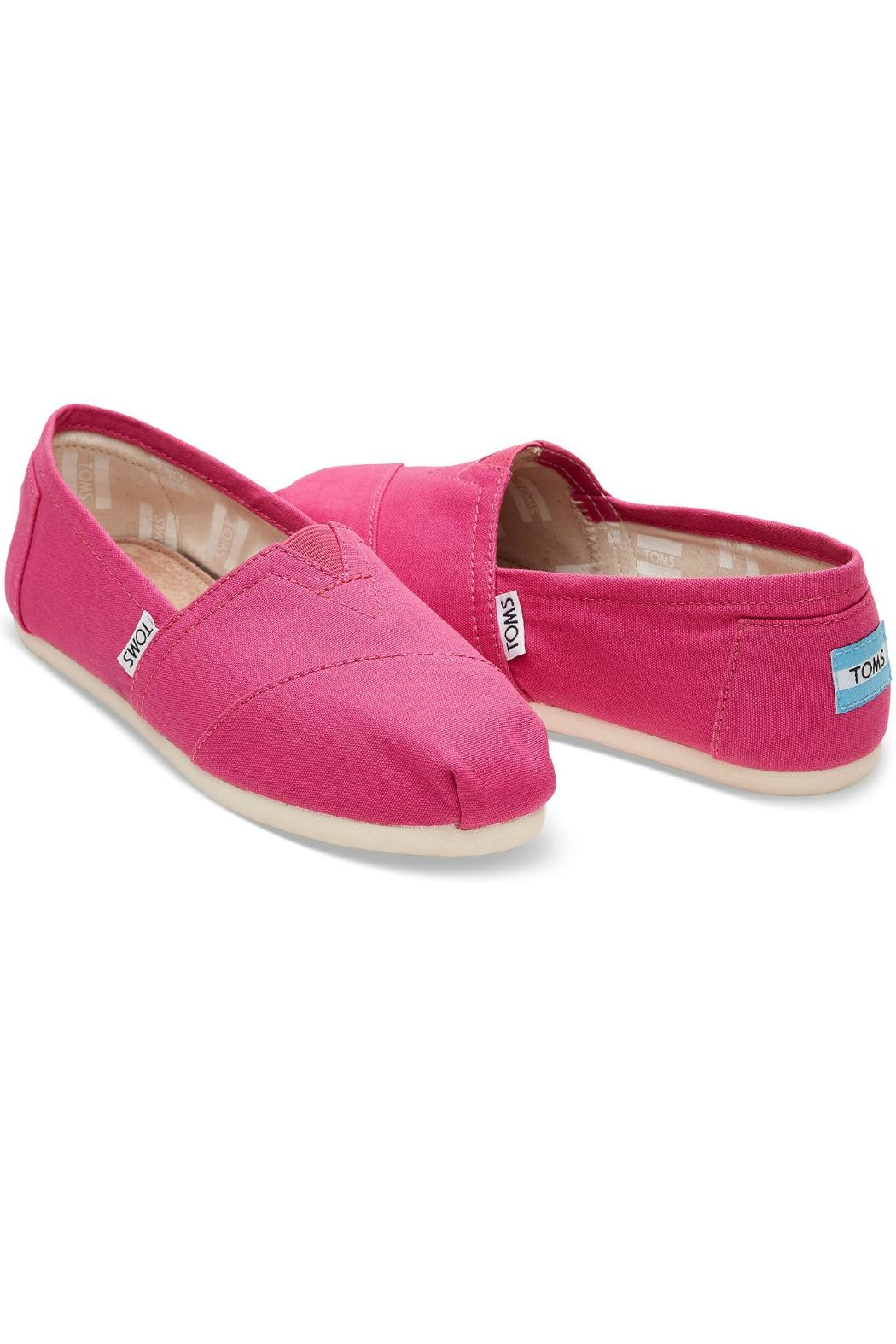 TOMS Pink Classic Toms - Front Full Image