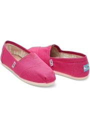 TOMS Pink Classic Toms - Front full body