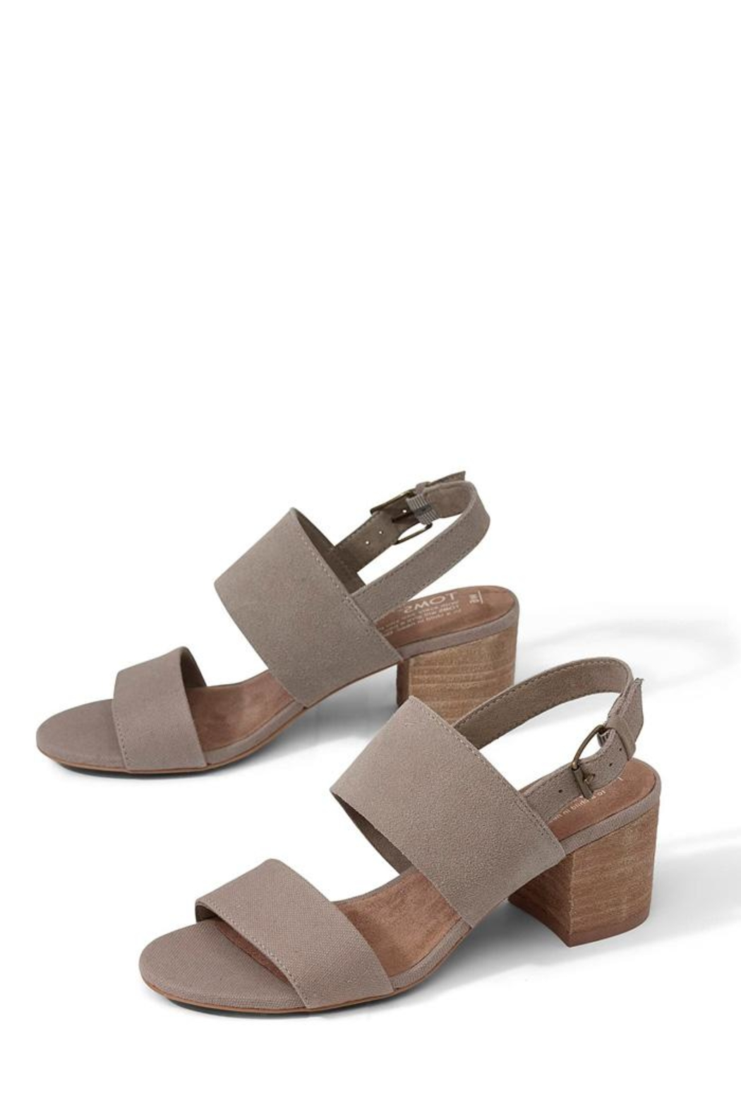 1a8c554ec51 TOMS Poppy Heeled Sandal from New York by Luna — Shoptiques