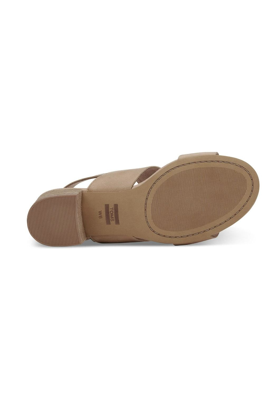 TOMS Poppy Leather Sandal - Side Cropped Image