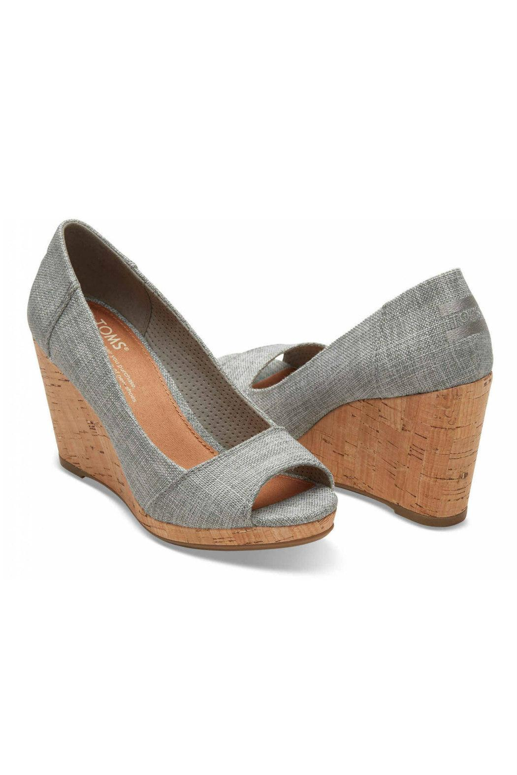 d93c3bd5fa6 TOMS Stella Peep Toe Wedges from Statesboro by Sole — Shoptiques