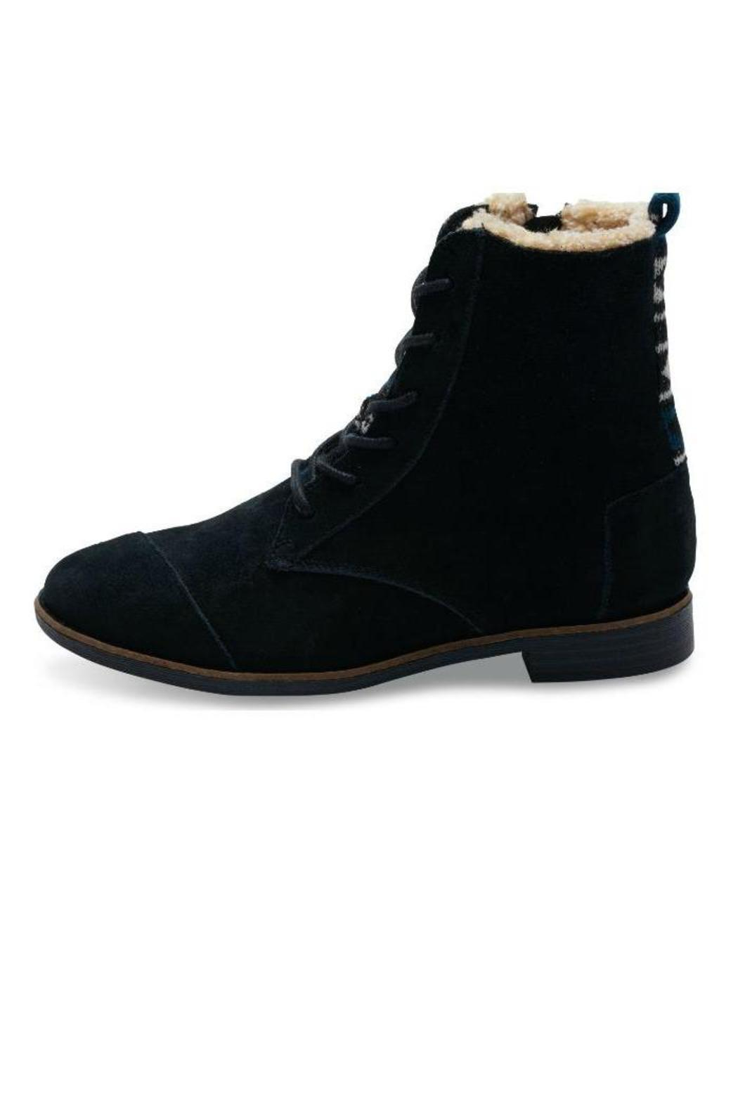 toms suede ankle boots from highlands and islands by
