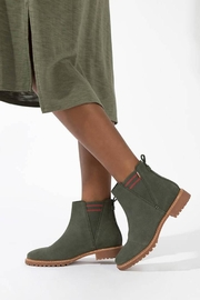 TOMS Suede Cleo Booties - Front cropped