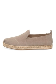 TOMS Suede Deconstructed Alpargatas - Front full body