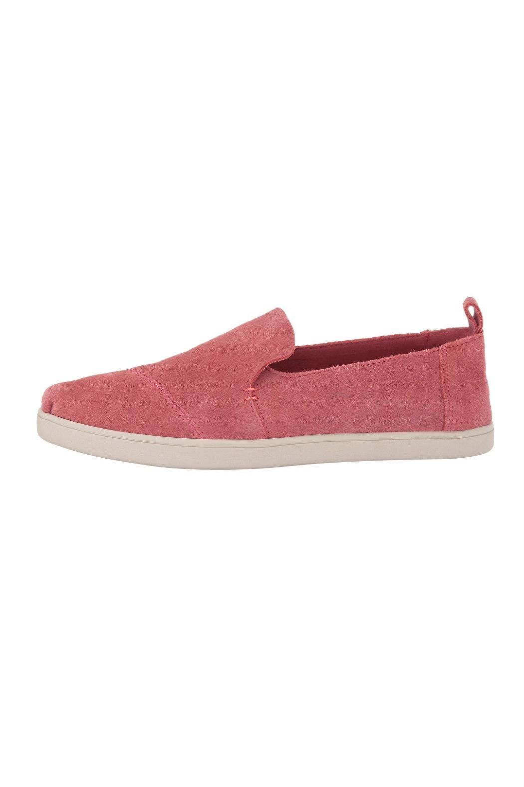 TOMS Suede Deconstructed Shoes - Back Cropped Image