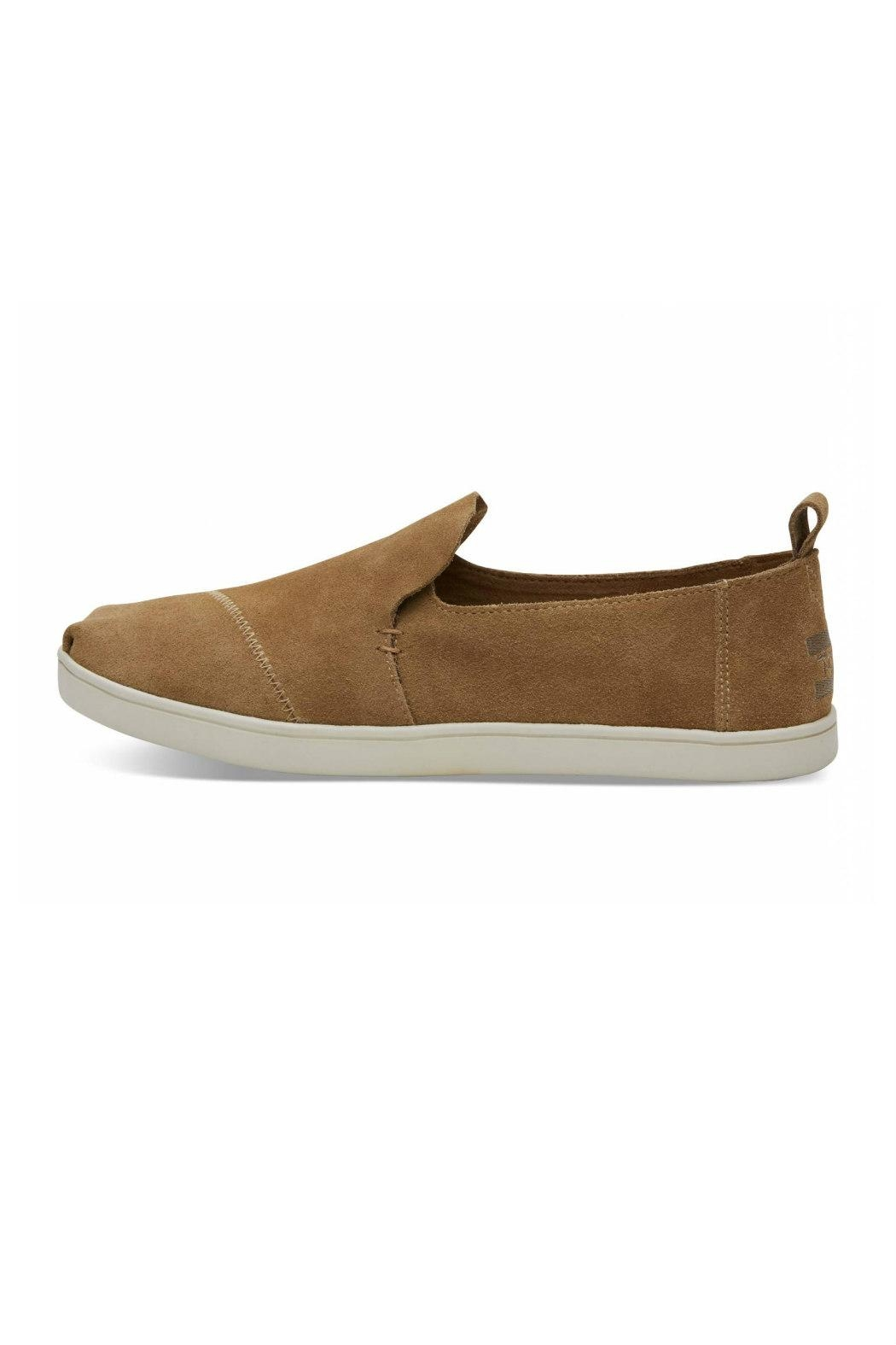 TOMS Suede Deconstructed Alpergata - Front Cropped Image