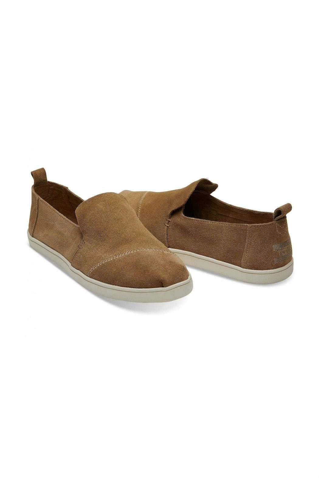 TOMS Suede Deconstructed Alpergata - Front Full Image