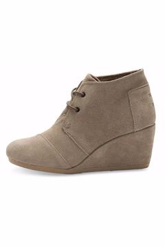 TOMS Suede Desert Wedge - Product List Image