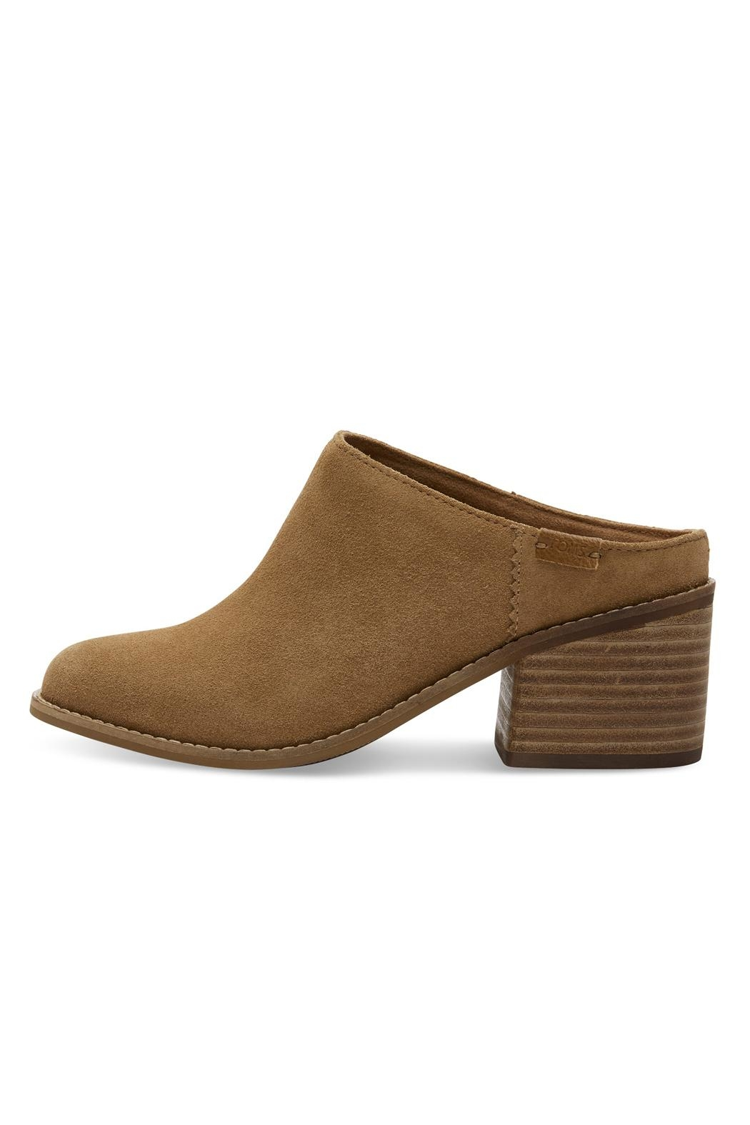 TOMS Suede Leila Mule Shoes - Main Image