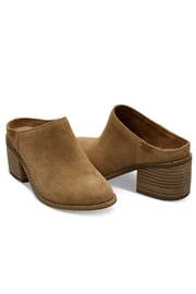 TOMS Suede Leila Mule Shoes - Front full body