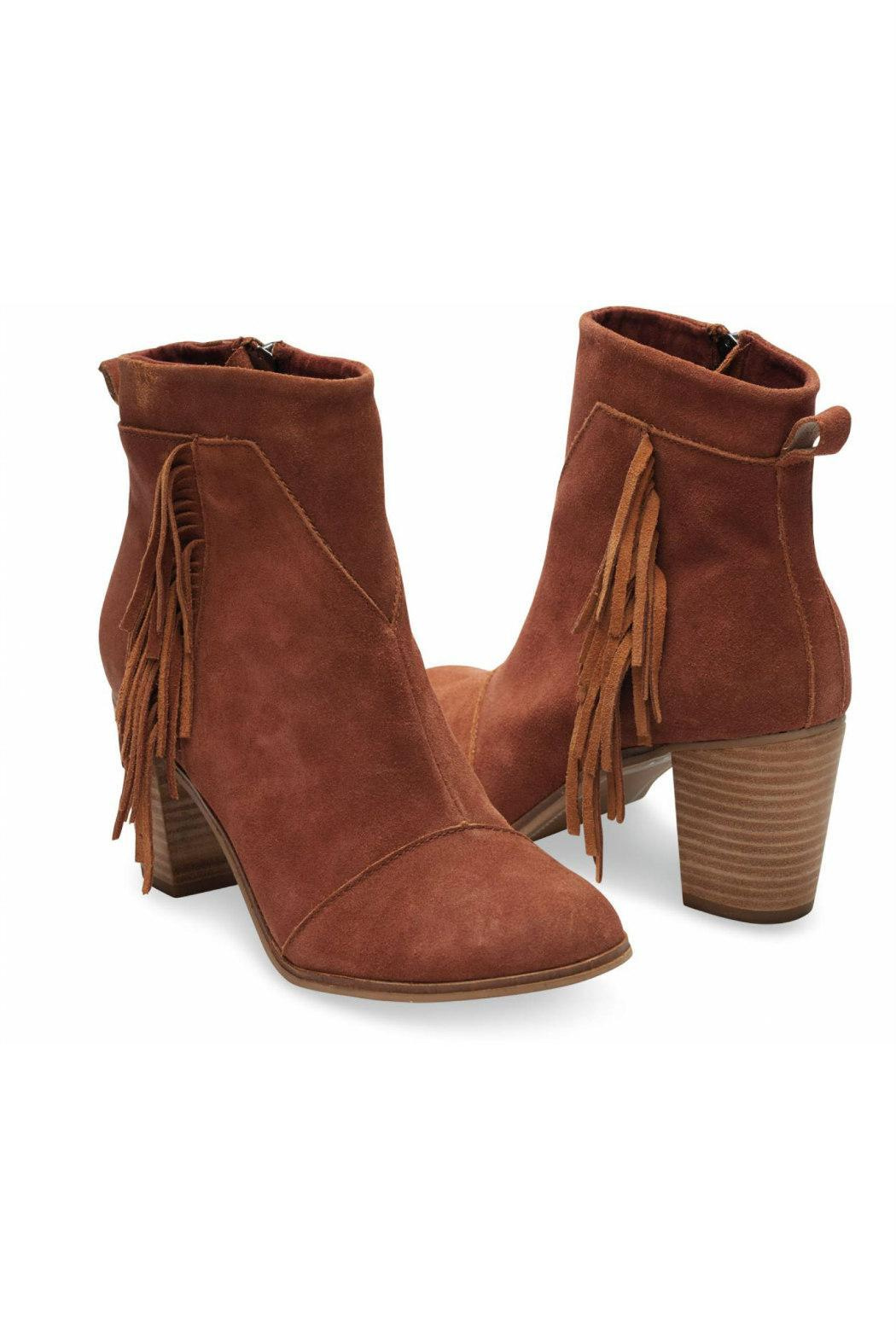 TOMS Suede Lunata Boot - Front Full Image