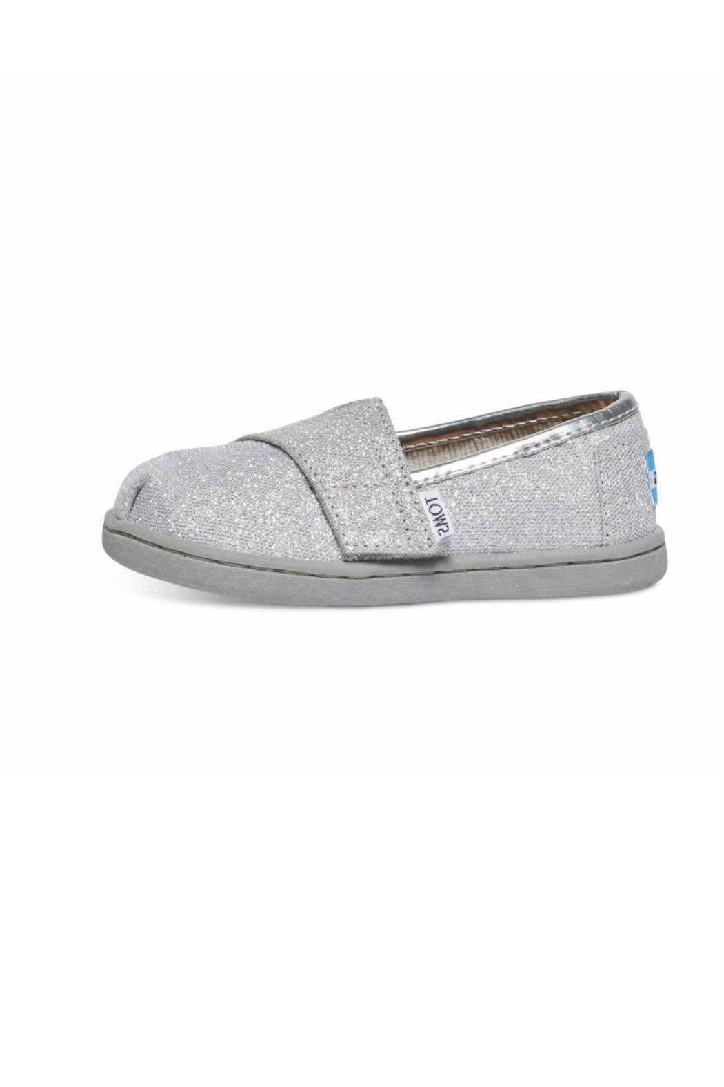 TOMS Silver Alpergata Shoes - Front Cropped Image