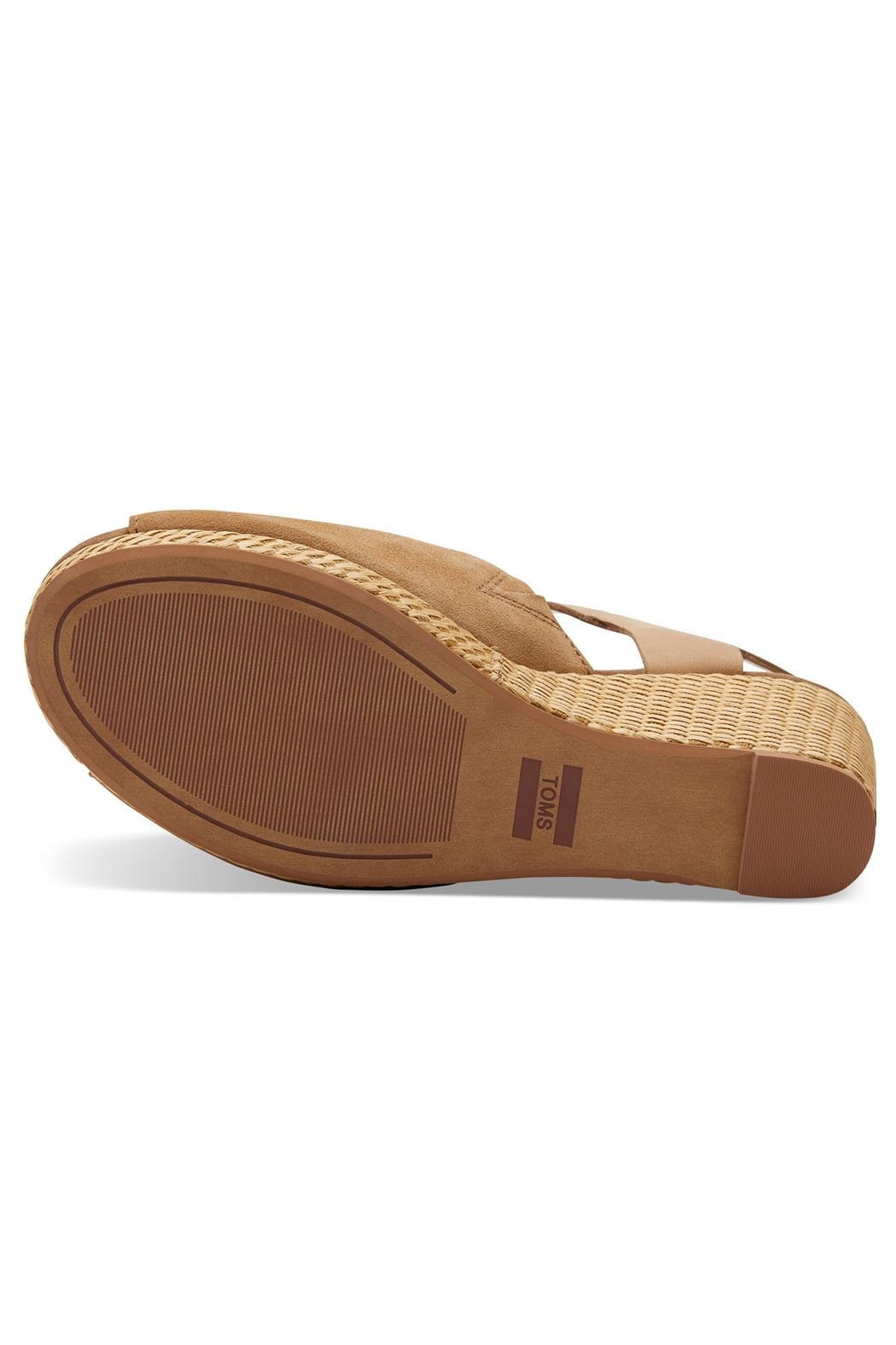 TOMS Tropez Suede Wedge - Side Cropped Image