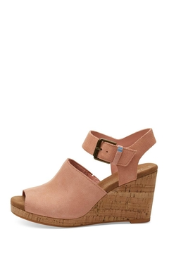TOMS Tropez Suede Wedges - Product List Image