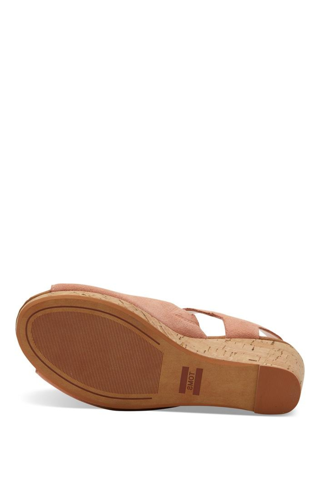 TOMS Tropez Suede Wedges - Side Cropped Image